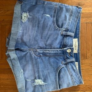 Ripped short jeans from pacsun